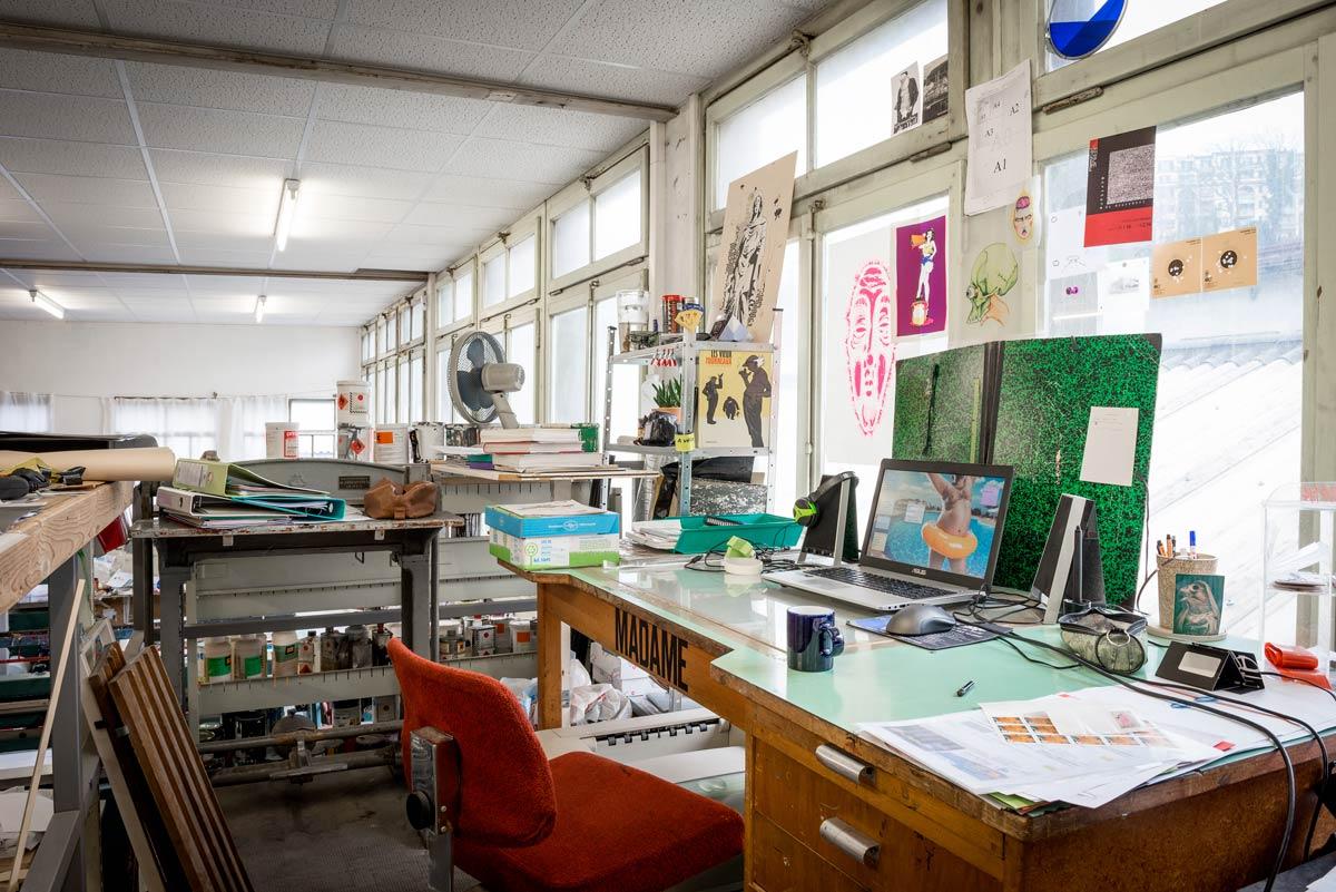 atelier de sérigraphie c.humbert-droz - label genève