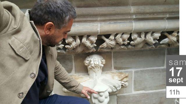 Le Cercle des Amis de Label Genève convié à visiter le chantier de rénovation de la chapelle des Macchabées